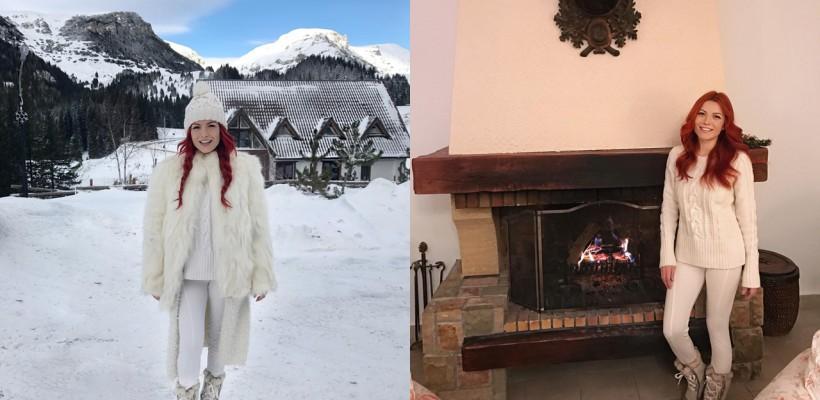 Elena Gheorghe profită din plin de timpul liber. Cu cine a plecat artista în vacanță