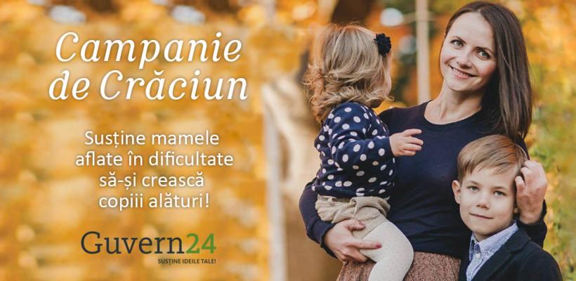 Ajută un copil să crească în brațele mamei