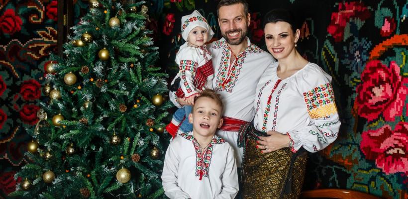 """Tradiții și obiceiuri de sărbători într-o familie moldo-italiană: """"Îi lăsăm pe copii să descopere tradițiile și să aleagă ce le place"""""""