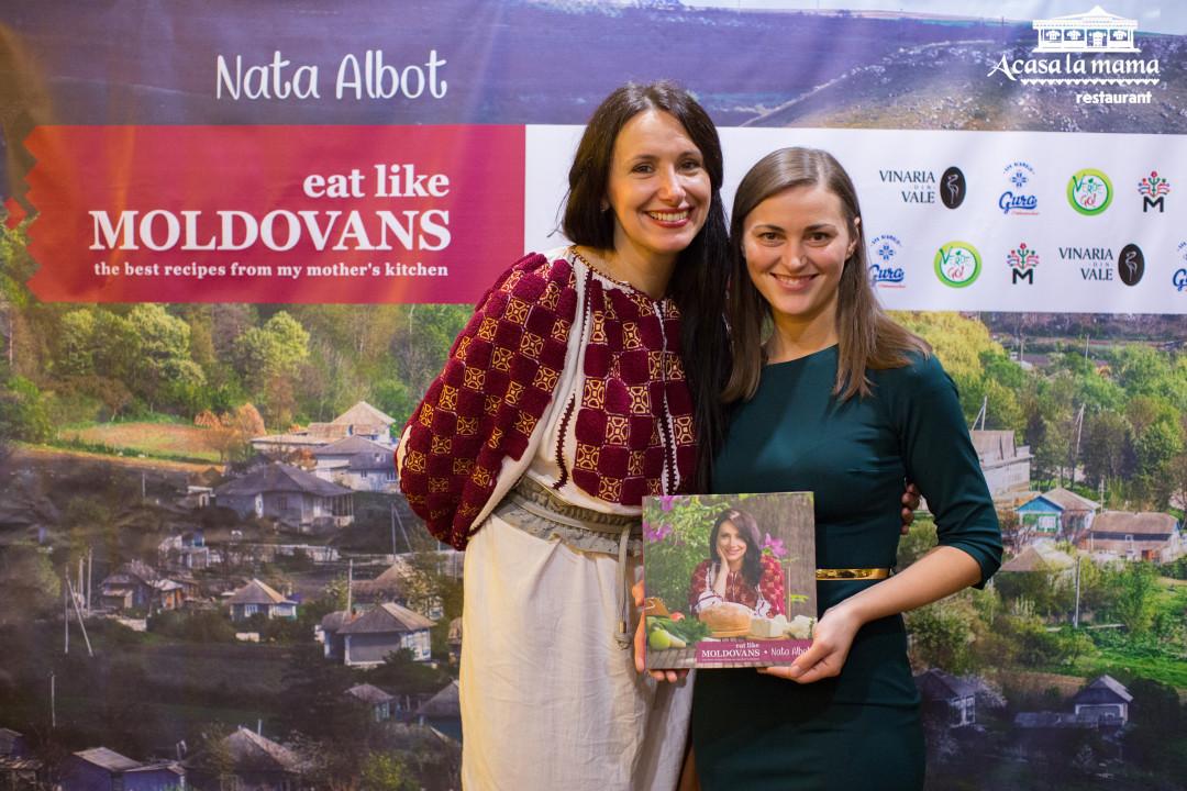 """Cartea """"Eat Like Moldovans"""" a obținut titlul de cea mai bună carte de rețete din Europa de Est"""