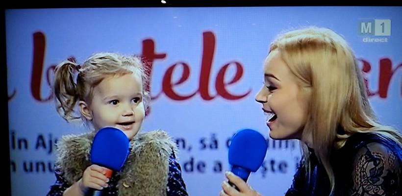 """Mai mulți artiști și-au luat copiii la Telemaratonul """"În brațele mamei"""" (Foto)"""