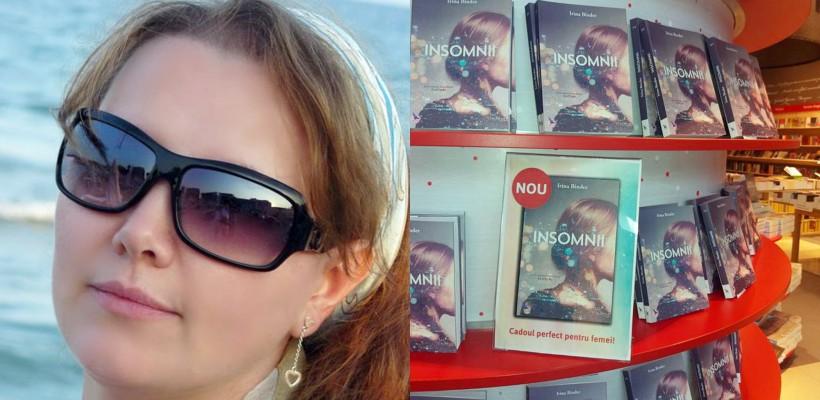 """După 3 volume de """"Fluturi"""", Irina Binder a lansat cartea """"Insomnii"""": """"Este despre fiecare dintre noi"""""""