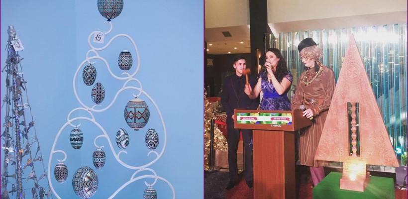 Ei au creat cei mai ingenioși brazi din acest an! Balul Brazilor de Crăciun i-a premiat (Foto)