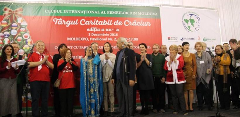 Târgul Caritabil de Crăciun a adunat la Moldexpo sute de vizitatori pentru o diversitate culturală unică (Foto)