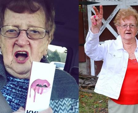 O bunicuță de 86 de ani face adevărate furori pe YouTube și Instagram! E haioasă și stilată