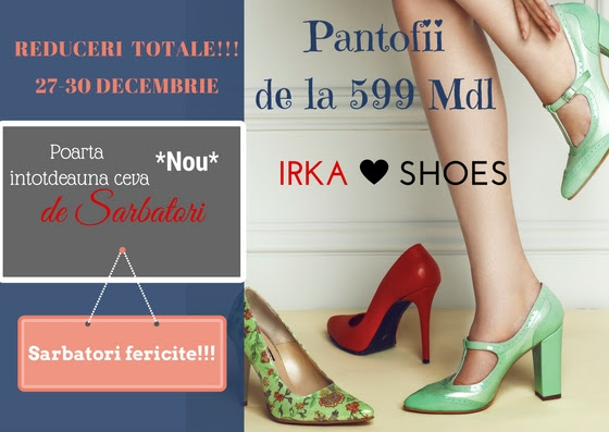 Irka Shoes te invită să fii elegantă de sărbători!