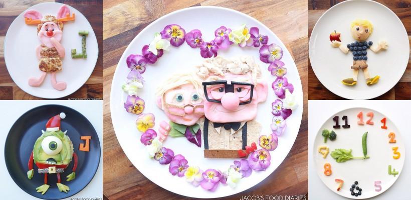 Cu astfel de mese își alintă fiul o mămică de pe continentul australian! (FOTO)