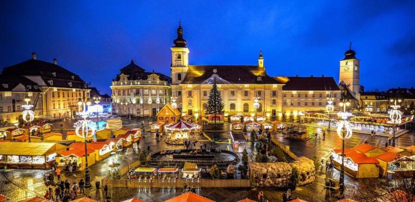 Sibiu, locul perfect pentru escapadele romantice din anotimpul rece