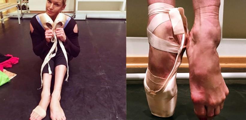 Anastasia Volochkova le destăinuie fanilor cum arată picioarele ei după fiecare antrenament (Foto)