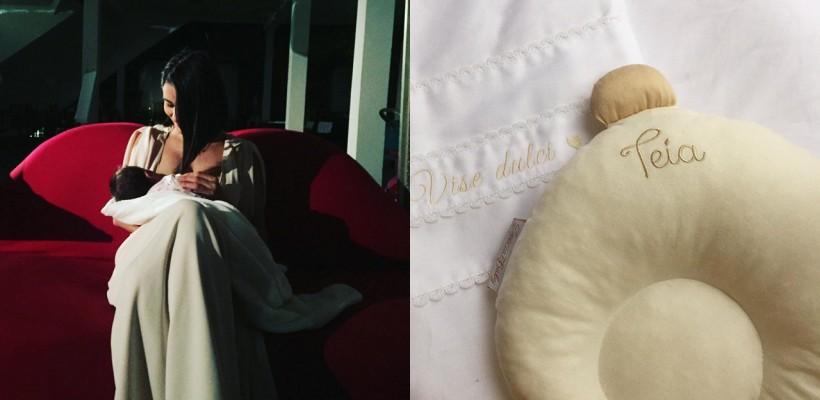 O nouă poză cu micuța Teia! Lilia Ojovan și-a delectat admiratorii virtuali cu o imagine adorabilă