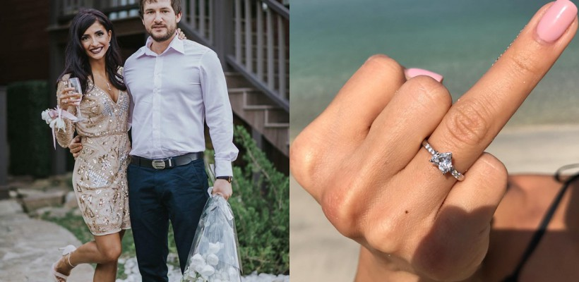 După un an de relație, a primit inelul de logodnă! Cum a fost cerută în căsătorie prezentatoarea TV, Inesa Voscoboinic
