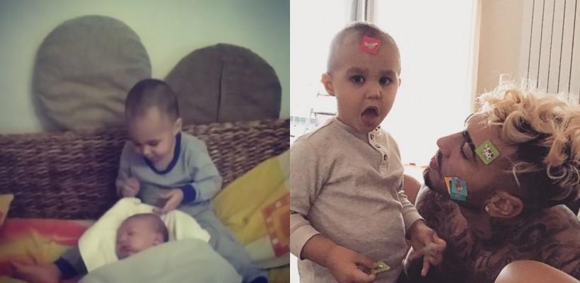 Mai drăgălași ca oricând! Cum au fost surprinși frații Velea (VIDEO)