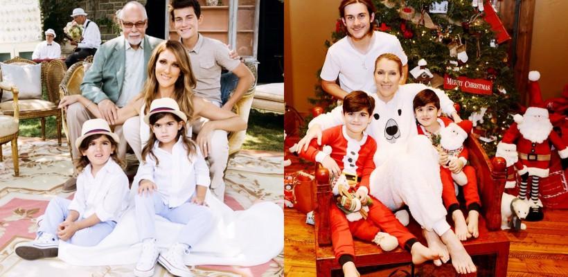 Prima poză de Crăciun fără soț. Céline Dion și-a arătat feciorii (FOTO)