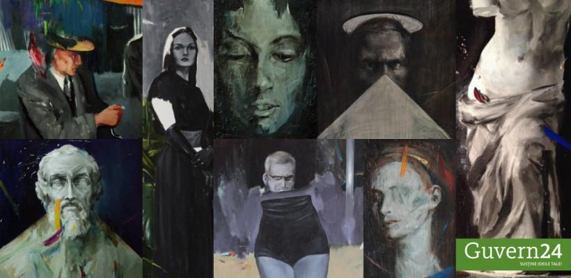 """Ajută-l pe tânărul artist plastic Marin Costiuc sa ajungă la cel mai mare târg de artă """"The Other Art Fair"""""""