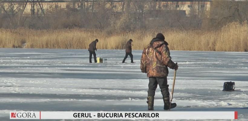 """Gerul de afară – bucuria pescarilor. """"Altul ar prefera să stea la televizor"""" (Video)"""