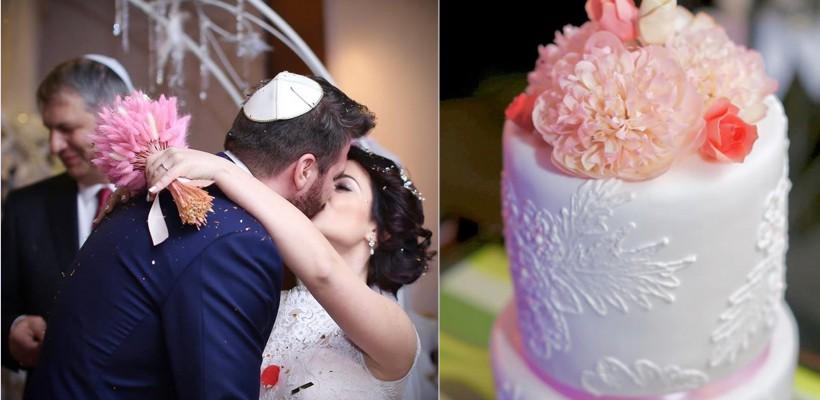 Detalii de la nunta Anastasiei Ursu! Mireasa a fost brunetă, iar tortul – mai mult decât special (FOTO)