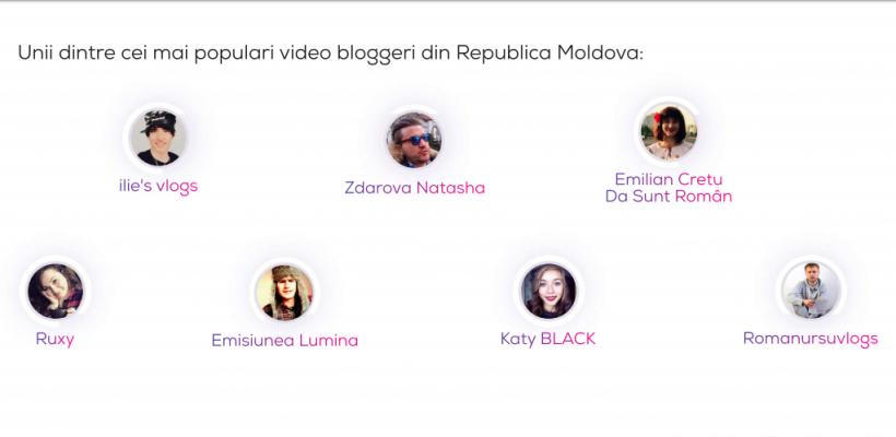 Faci vlogging? Vezi dacă te regăsești în lista celor mai populari vloggeri din Moldova.