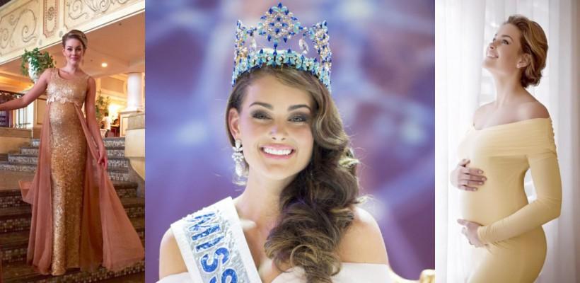 Miss World 2014 a devenit mămică și este în culmea fericirii (Foto)