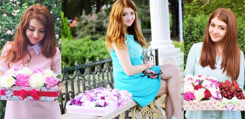 Elena Coadă – studenta de la Drept care și-a lansat o afacere specializată în Flower Box-uri de excepție