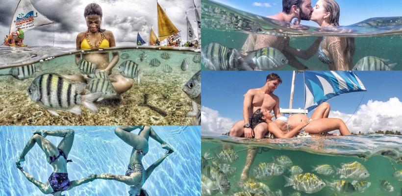 """Apa – """"studioul"""" unui fotograf portughez! Imortalizează cupluri în cele mai inedite ipostaze"""