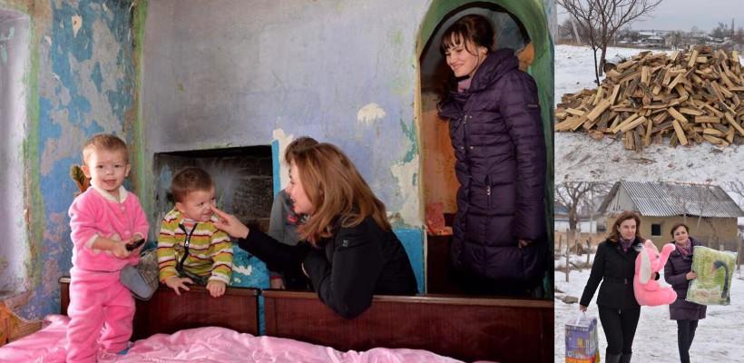 """Cazul celor 10 frați necăjiți de la Tânțăreni, în atenția Galinei Dodon: """"Intenționăm să le procurăm o casă"""""""