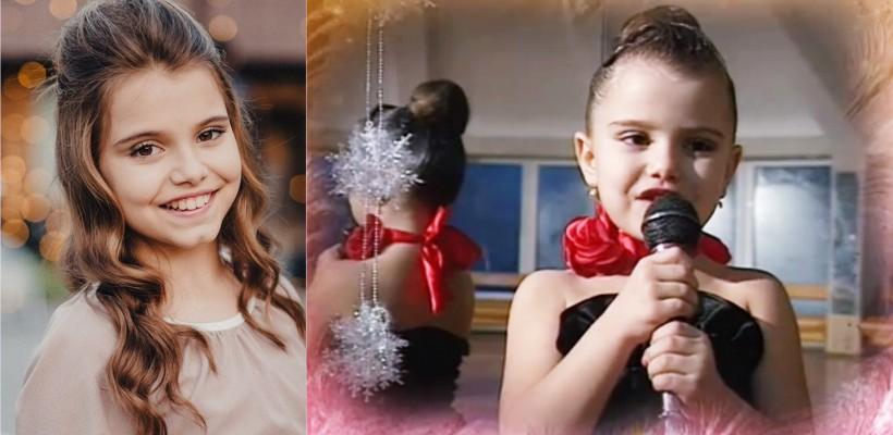 Talentata dansatoare Ionela Țăruș împlinește astăzi 12 ani. Cum arăta în fragedă copilărie (VIDEO)