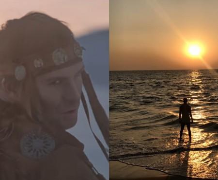 După ce a înfruntat gerul arctic, Ionel Istrati profită la maxim de soare și căldură! Unde se odihnește interpretul