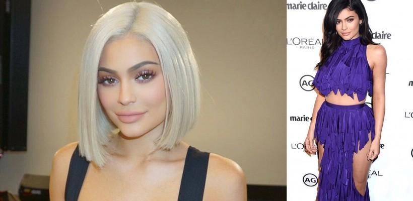 Kylie Jenner, din nou blondă! Cât de bine o prinde schimbarea de look (FOTO)