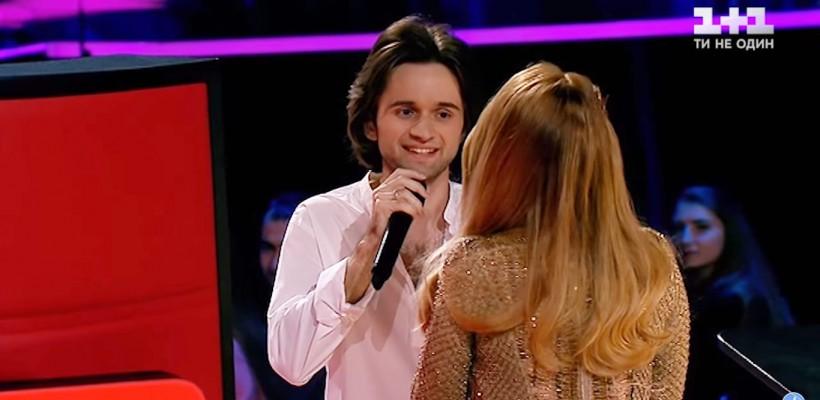 Talent de milioane! Un tânăr din Chișinău a făcut furori la Vocea Ucrainei, fiind alesul Tinei Karol