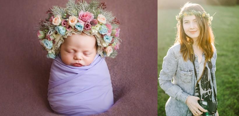 """Cândva – în fața obiectivului, acum – fotografa bebelușilor! Mirabela Ivanov: """"Sunt la început, dar am reușit să creez atâtea amintiri frumoase"""""""