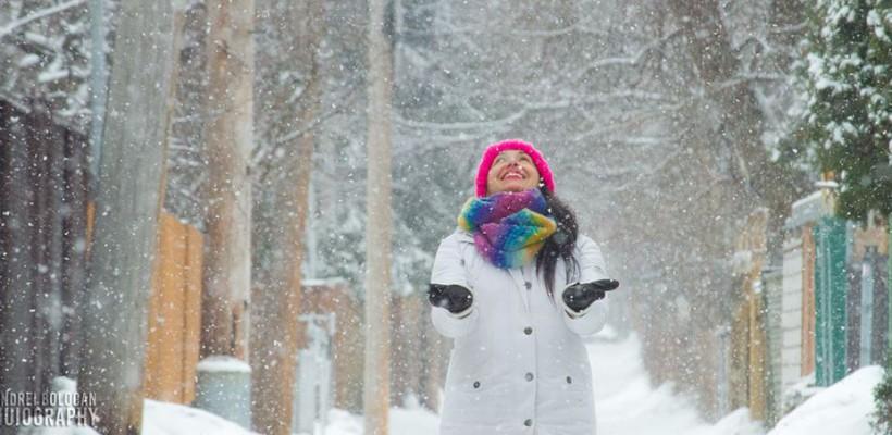 7 ținute stilate de iarnă de la Nata Albot (Foto)