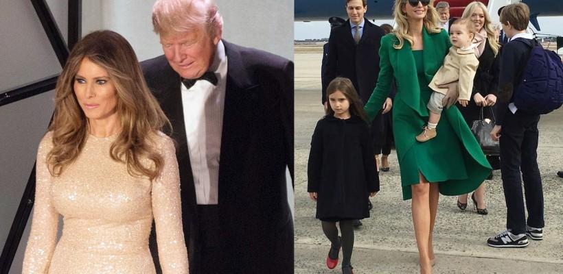 Ce rochii au purtat noua Primă Doamnă și fiica mai mare a lui Donald Trump la cina din ajunul învestirii
