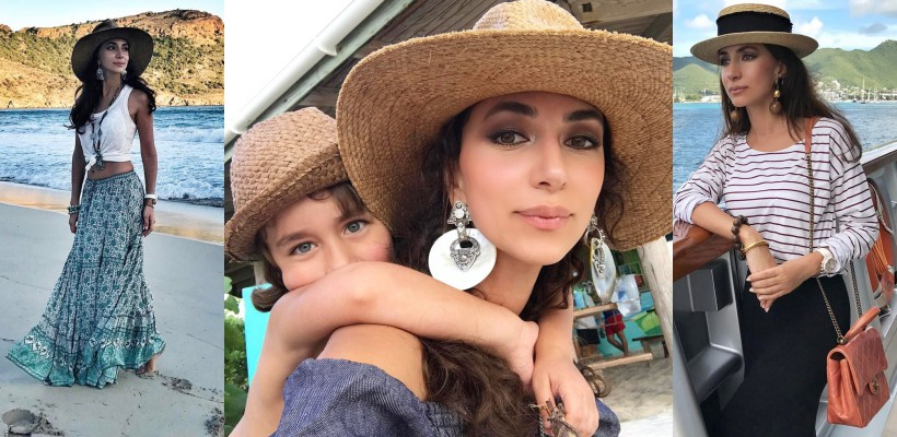 În premieră după divorț, Zara a mers împreună cu cei doi fii într-o vacanță (FOTO)