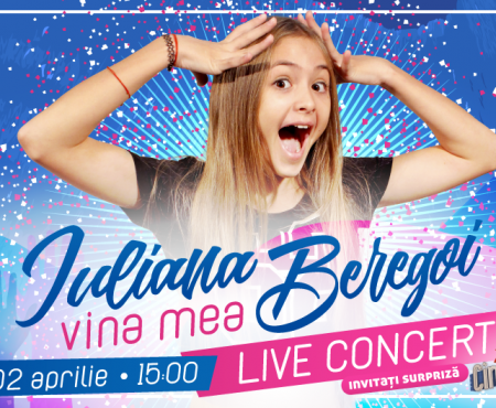 După ce a devenit milionară pe YouTube, Iuliana Beregoi pregătește cel mai mare concert al ei din România