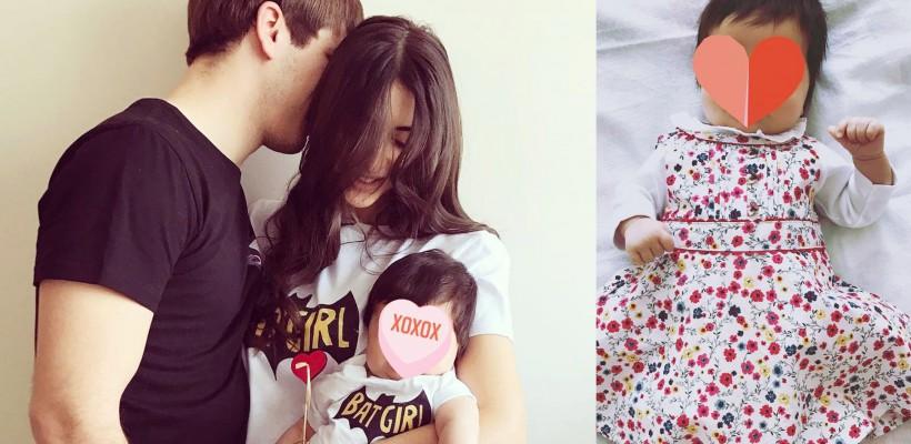 Are numai 3 luni și o garderobă imensă! Cât de mare s-a făcut fetița designeruluI Elena Bivol (FOTO)