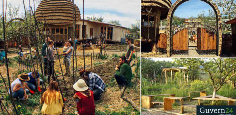 """""""EcoVisio"""" – Construcția unui centru educațional într-o zonă rurală din Moldova"""