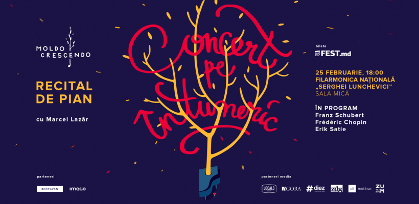 """Moldo Crescendo susține un nou """"Concert pe întuneric"""""""