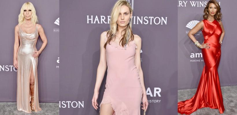 Modelul transgender Andreja Pejić, Donatella Versace și alte vedete care au sclipit la amfAR New York Gala 2017