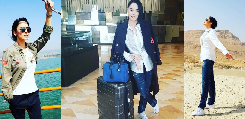 Andreea Marin, plecată într-o escapadă în Israel. Vedeta TV a slăbit considerabil (FOTO)