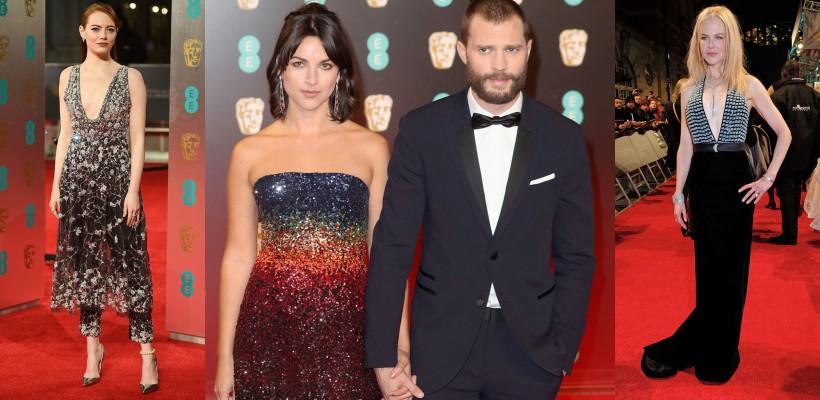 Ținute sclipitoare și apariții legendare, ieri, pe covoarele roșii ale Galei BAFTA 2017! (FOTO)