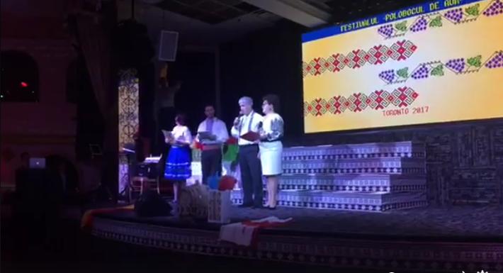 """Se fac 10 ani de când o familie de moldoveni organizează anual la Toronto festivalul """"Polobocul de Aur"""""""