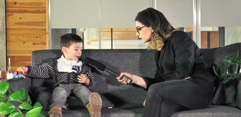 Aflați de la un copil care se visează Făt-Frumos că zmei există, dar nu în țara noastră. Vezi ce profesii își doresc cei mici (VIDEO)
