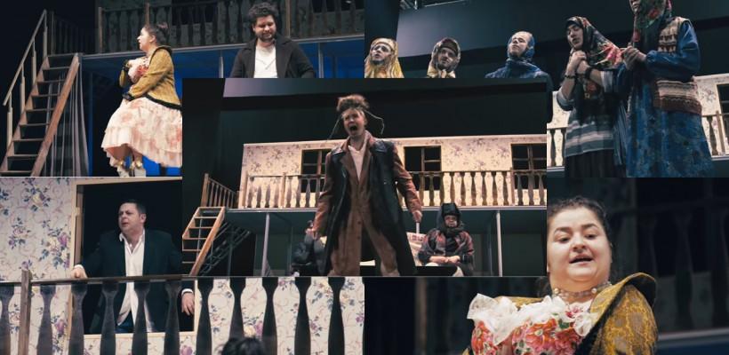 """Actorii Teatrului Național """"Eugene Ionesco"""" te invită la premiera spectacolului """"Căsătoria"""" (VIDEO)"""