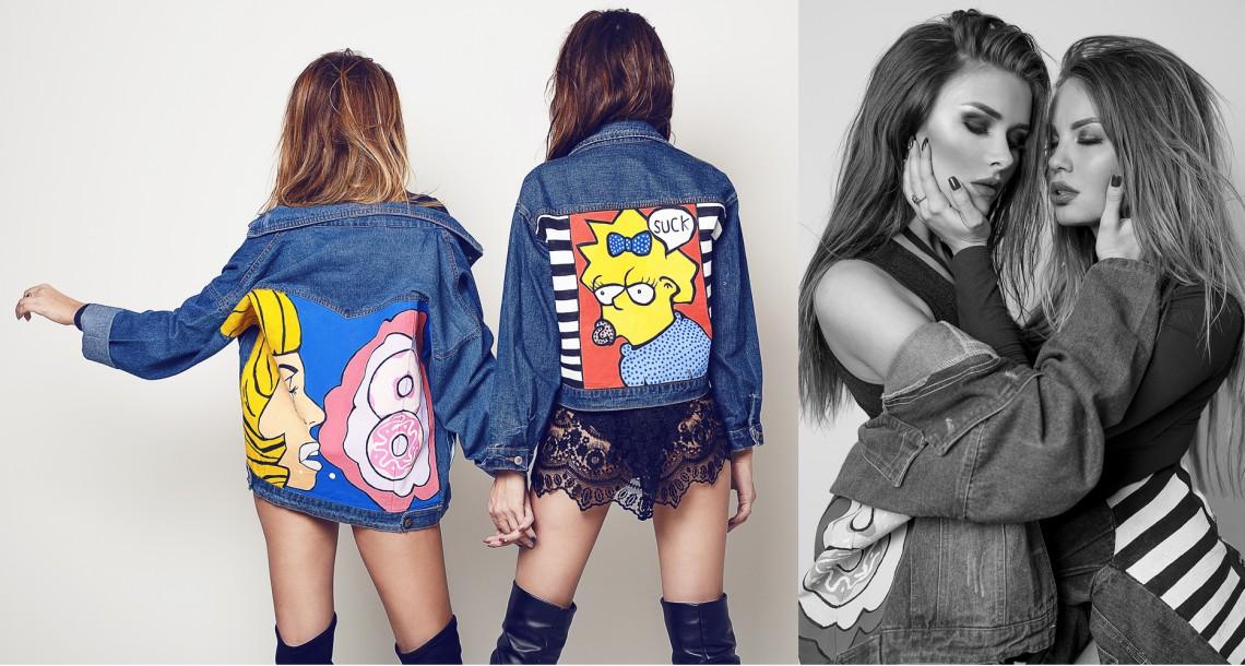 Modele și cele mai bune prietene! Viorela Dimici și Adela Prisăcari, pline de senzualitate într-un proiect foto autohton