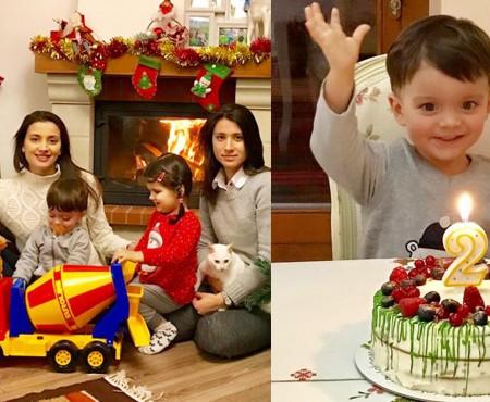 Lia Bejenaru și Anatol Untură îl aniversează astăzi pe mezinul familiei. Bogdan e flăcău mare deja