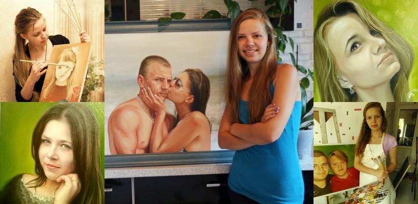 Oamenii se uită la portretele ei ca la niște icoane! Natalia Artenii – moldoveanca ale cărei tablouri străbat continentele