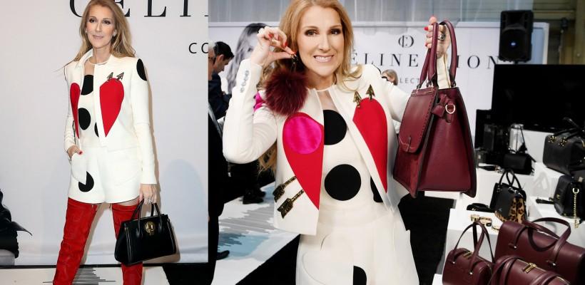 Céline Dion și-a lansat în premieră o colecție de poșete! Cum arată accesoriile (FOTO)