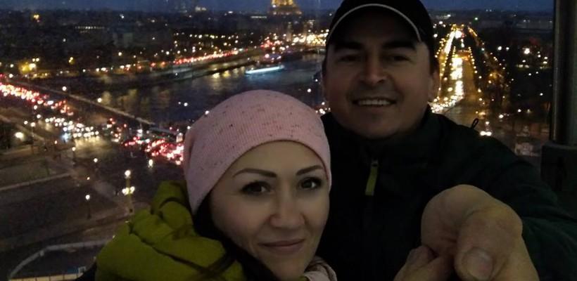 Bogdan Dascăl și soția sa au plecat în luna de miere, după 13 ani de căsătorie (Foto)