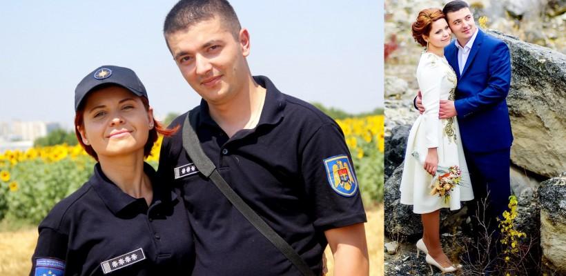 """Diana Țurcan & Alexandru Țuțu: """"Credem că soarta ne iubește. Serviciul în care activăm a fost marele nostru noroc"""""""