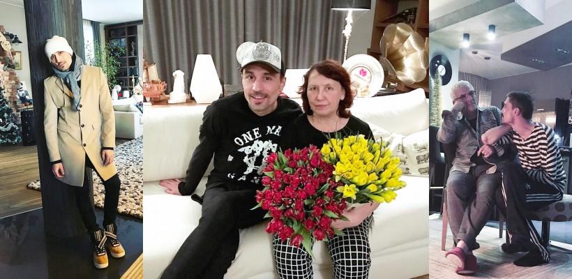 """Dima Bilan și-a adus părinții în noul apartament: """"Oamenii dragi au nevoie de noi. Dăruiți-le flori!"""""""